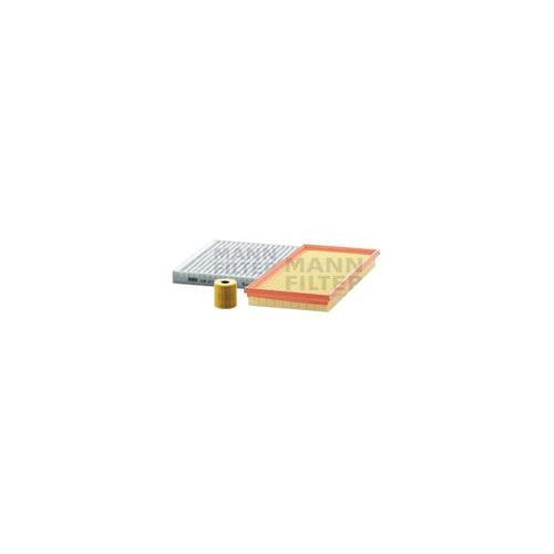 MANN-FILTER Filter Satz, Öl-,Luft und Innenraum Aktivkohle-Filter VSF0296MAN