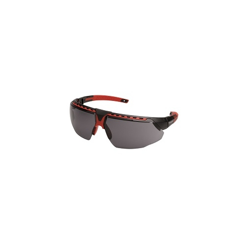 HONEYWELL safety glasses avatar frame black / red, lens gray 1034837
