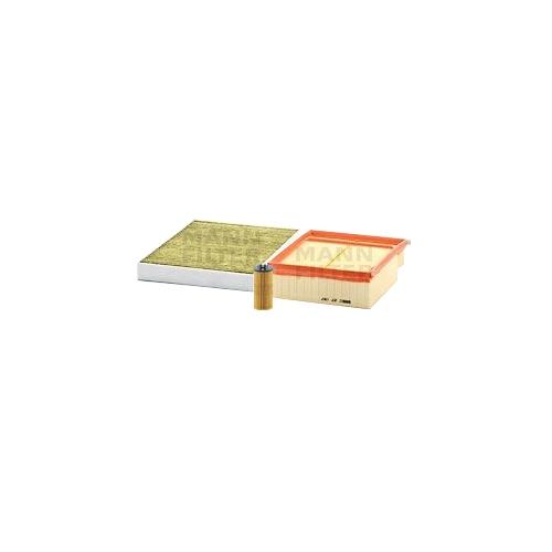 MANN-FILTER Filter Satz, Öl-,Luft und Innenraum-Filter Polyphenol VSF0258MAN