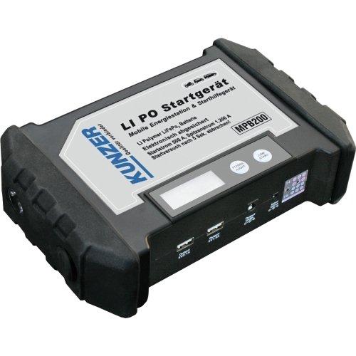 Kunzer Schnellstartsystem Multi Pocket Booster MPB200 Starthilfestrom 12 V=500 A