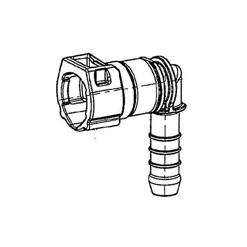 Kunzer 3 Winkel SAE-Stecker 9,98-10 90 Grad KLR10WS