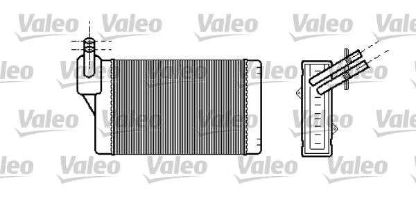 Wärmetauscher, Innenraumheizung VALEO 812030 AUDI SEAT SKODA VW