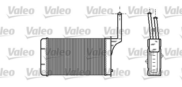 Heat Exchanger, interior heating VALEO 812114 PEUGEOT