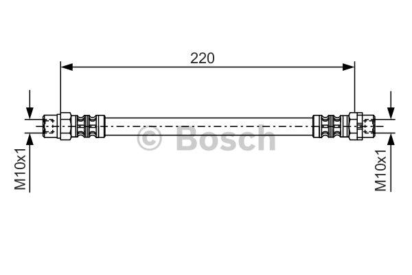 Bremsschlauch BOSCH 1 987 476 175 BMW