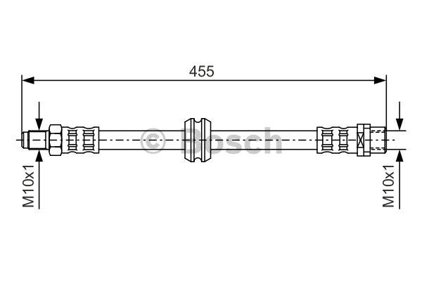 Bremsschlauch BOSCH 1 987 476 444 BMW