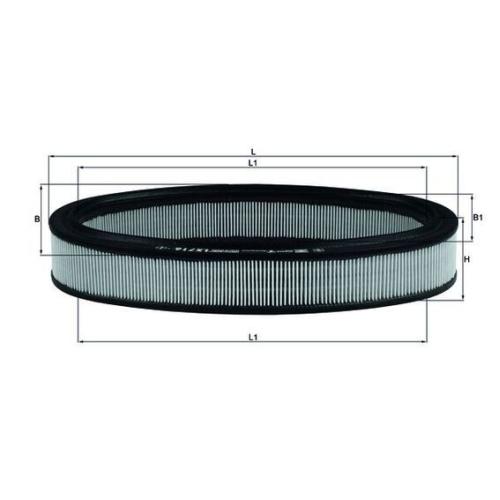 Luftfilter MAHLE LX 716 CHRYSLER RENAULT