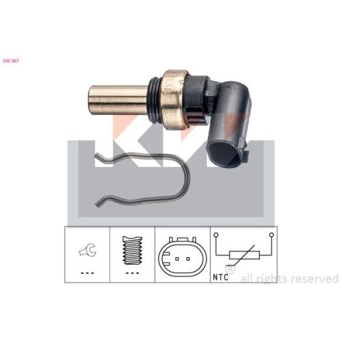 Sensor, Kühlmitteltemperatur KW 530 387 Made in Italy - OE Equivalent OPEL