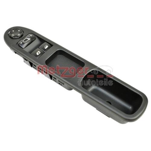 Schalter, Fensterheber METZGER 0916410 CITROEN/PEUGEOT