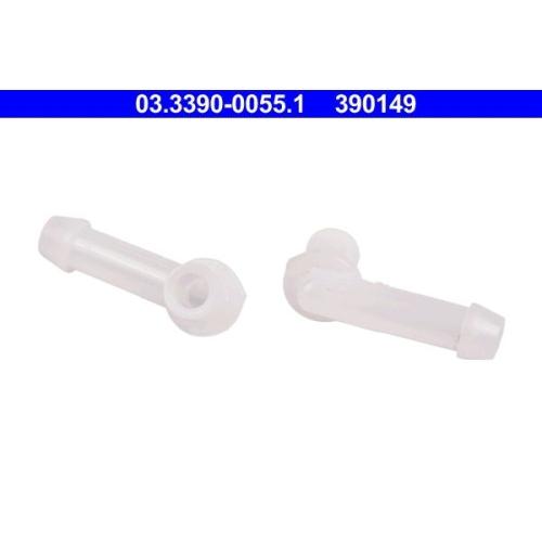 ATE Connection Piece, hose line 03.3390-0055.1