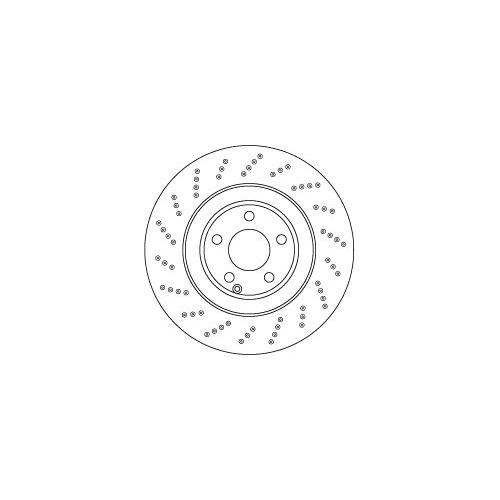 TRW Brake Disc DF6668S