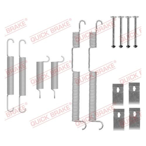 Accessory Kit, brake shoes QUICK BRAKE 105-0844