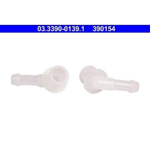 ATE Connection Piece, hose line 03.3390-0139.1