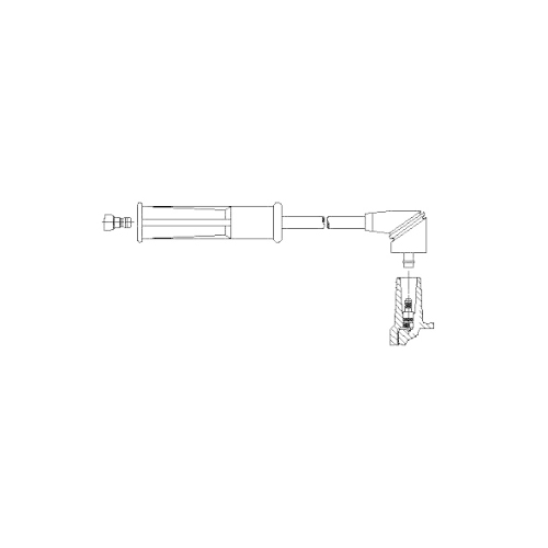 BREMI Ignition Cable 6A29/31