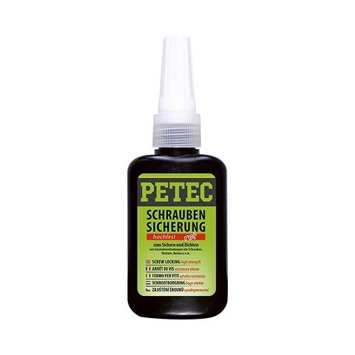 PETEC Schraubensicherung Hochfest 50 gramm Flasche 92050