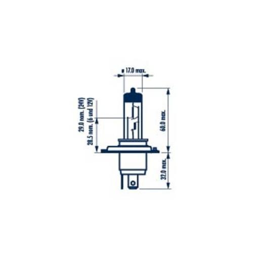 Bulb, spotlight NARVA 48898 Heavy Duty