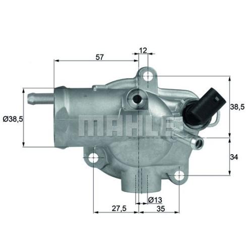 BEHR THERMOT-TRONIK Thermostat, Kühlmittel TH 13 92