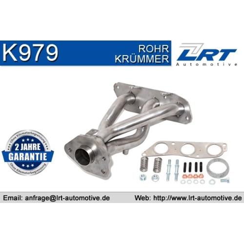 Krümmer, Abgasanlage LRT K979 MITSUBISHI SMART