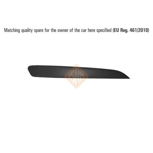 ISAM 0703711 trim / protective strip for bumper front right for Opel Astra H