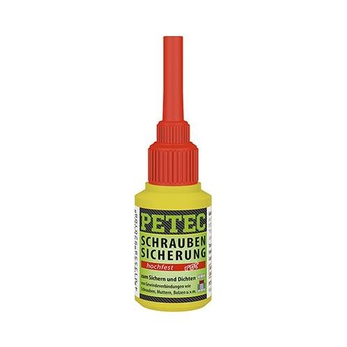 PETEC Schraubensicherung hochfest rot 10 gramm 92010