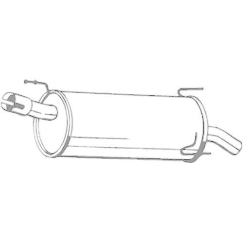 BOSAL End Silencer 185-959