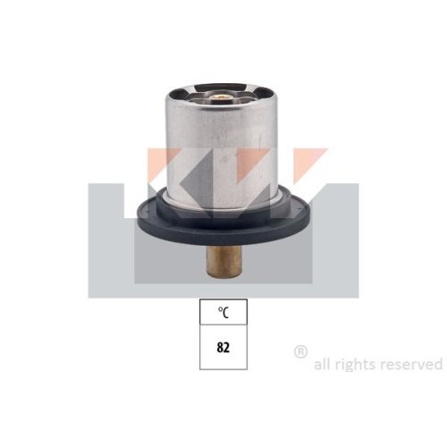 Thermostat, coolant KW 580 510 Made in Italy - OE Equivalent CITROËN FIAT LANCIA