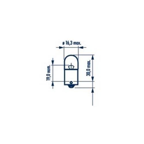 Bulb, licence plate light NARVA 17326