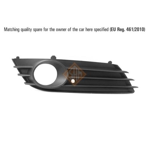 ISAM 0703718 Lüftungsgitter Stoßfänger vorne rechts für Opel Astra H