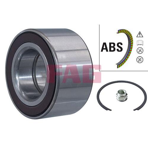 Wheel Bearing Kit FAG 713 6908 60 FIAT