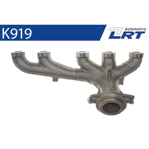 LRT Krümmer, Abgasanlage K919