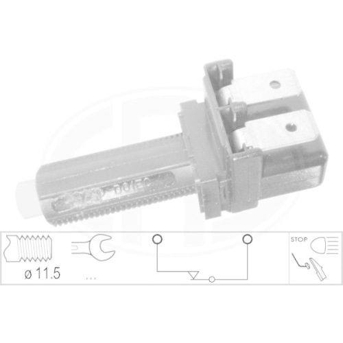 Brake Light Switch ERA 330042 FORD MAZDA MERCEDES-BENZ VOLVO VW