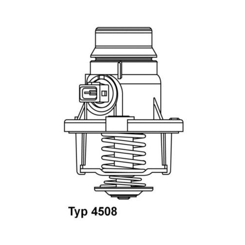 WAHLER Thermostat 4508.105D