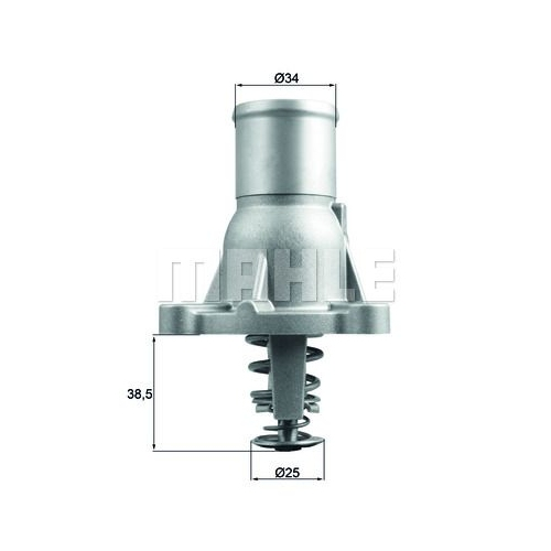 Thermostat, coolant MAHLE TI 260 92 FIAT GMC OPEL VAUXHALL GENERAL MOTORS