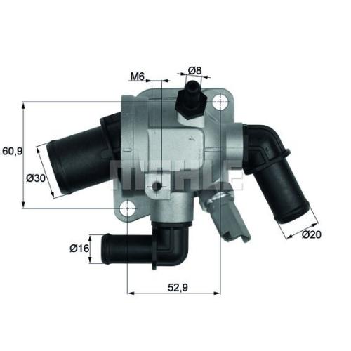 BEHR THERMOT-TRONIK Thermostat, Kühlmittel TI 173 88