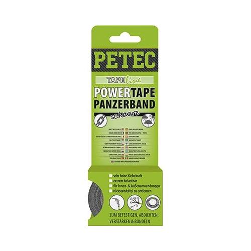 PETEC POWER TAPE PANZERBAND SCHWARZ 50 MM x 5 M 86105
