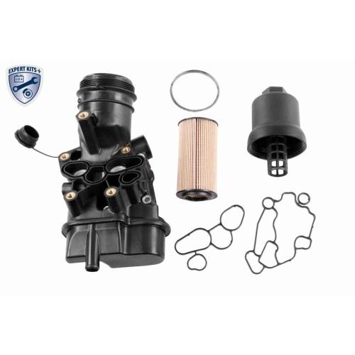 Gehäuse, Ölfilter VAICO V10-4621 EXPERT KITS + AUDI SEAT SKODA VW VAG