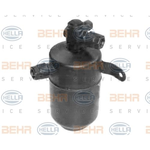 Dryer, air conditioning HELLA 8FT 351 197-781 MERCEDES-BENZ