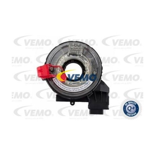Clockspring, airbag VEMO V10-72-1302 Q+, original equipment manufacturer quality