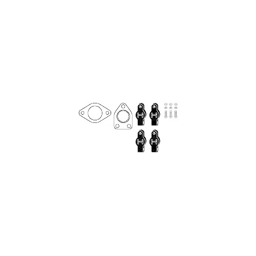 Mounting Kit, exhaust system HJS 82 45 7873