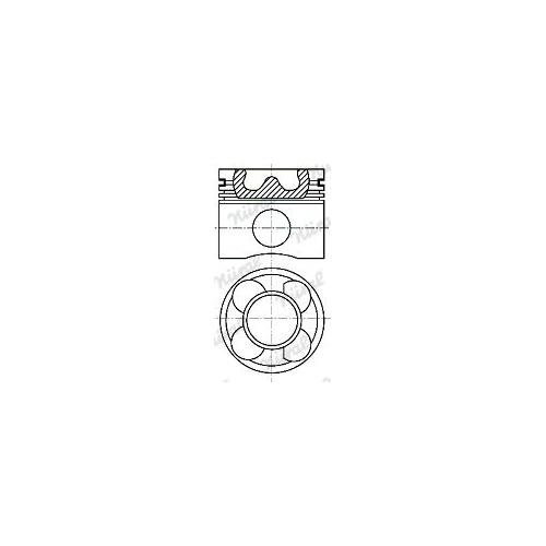 Piston NÜRAL 87-114400-40 BMW