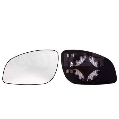 ALKAR Mirror Glass, outside mirror 6471444