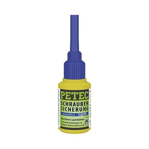 PETEC Schraubensicherung Mittlefest 10 gramm 91010