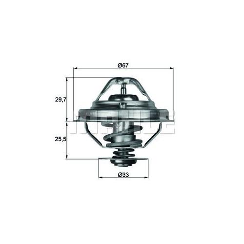 BEHR THERMOT-TRONIK Thermostat, coolant TX 38 88D