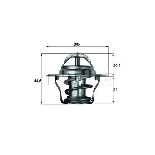 BEHR THERMOT-TRONIK Thermostat, Kühlmittel TX 4 83D