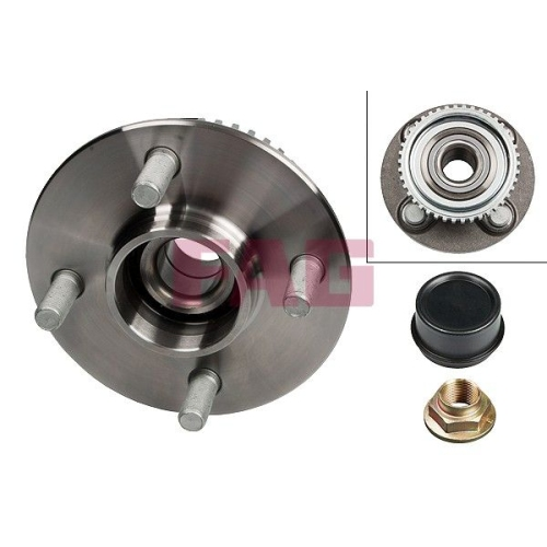 Wheel Bearing Kit FAG 713 6134 50 NISSAN
