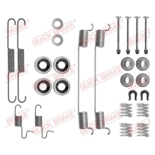 Accessory Kit, brake shoes QUICK BRAKE 105-0818