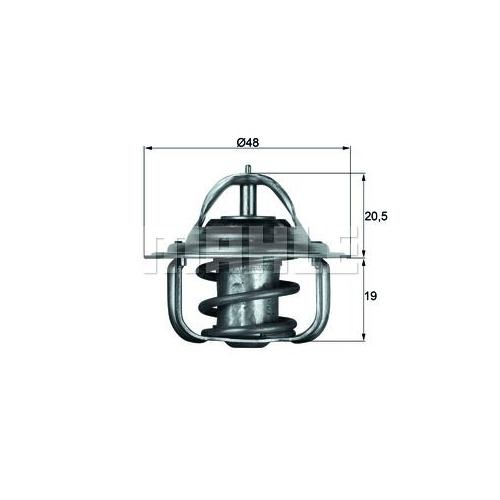 Thermostat, coolant BEHR TX 5 83D
