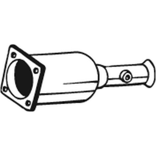 Ruß-/Partikelfilter, Abgasanlage BOSAL 095-204 CITROËN FIAT LANCIA PEUGEOT