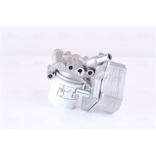 Oil Cooler, engine oil NISSENS 90893 CITROËN FIAT FORD PEUGEOT