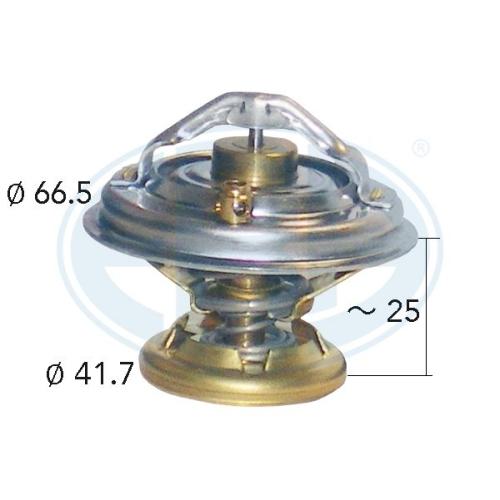 Thermostat, coolant ERA 350128A MERCEDES-BENZ GENERAL MOTORS