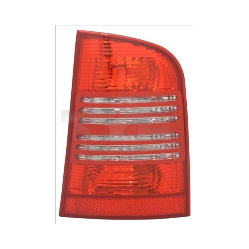 Combination Rearlight TYC 11-0382-01-2 SKODA